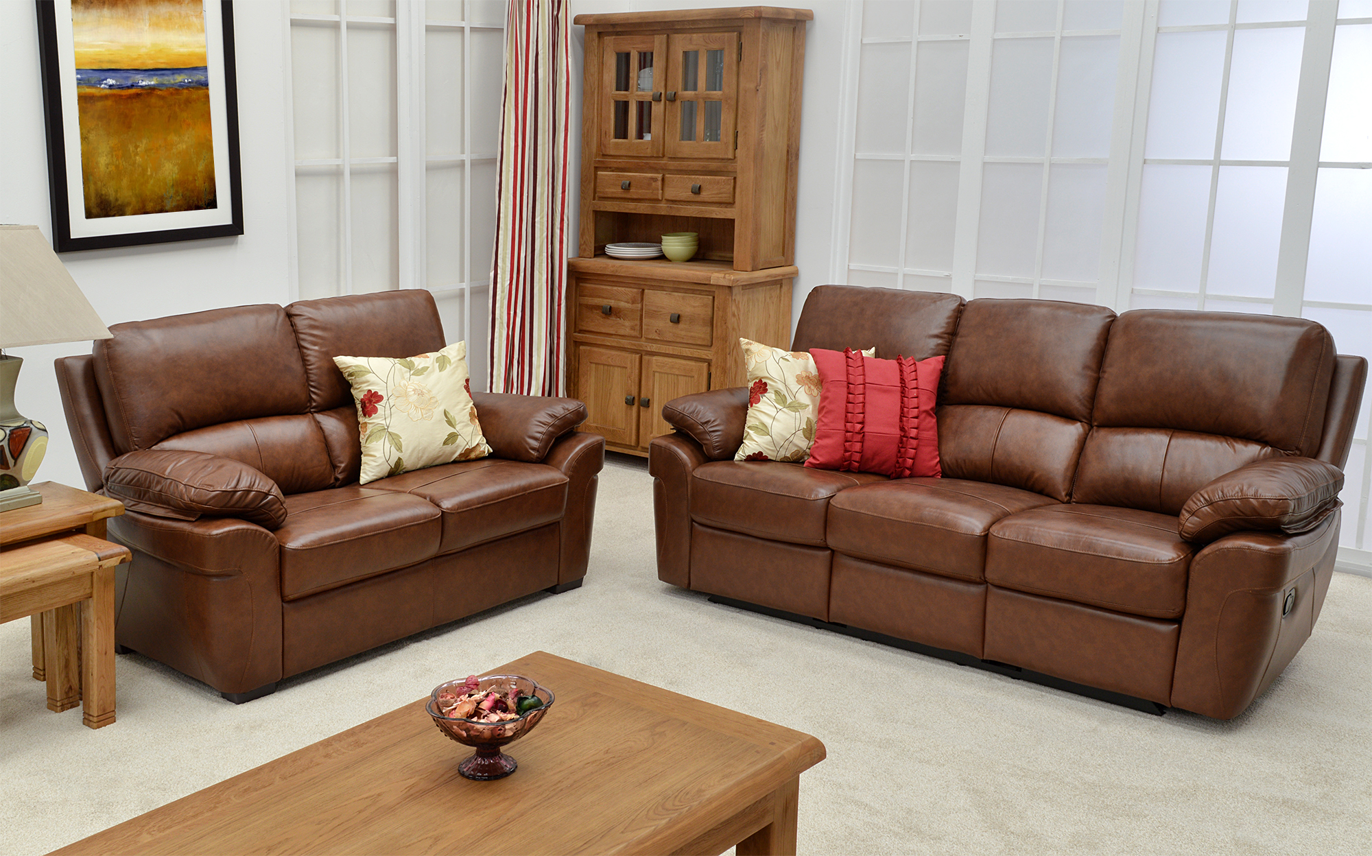 Kellys of Cornmarket Wexford Ireland Monzano Leather Upholstery