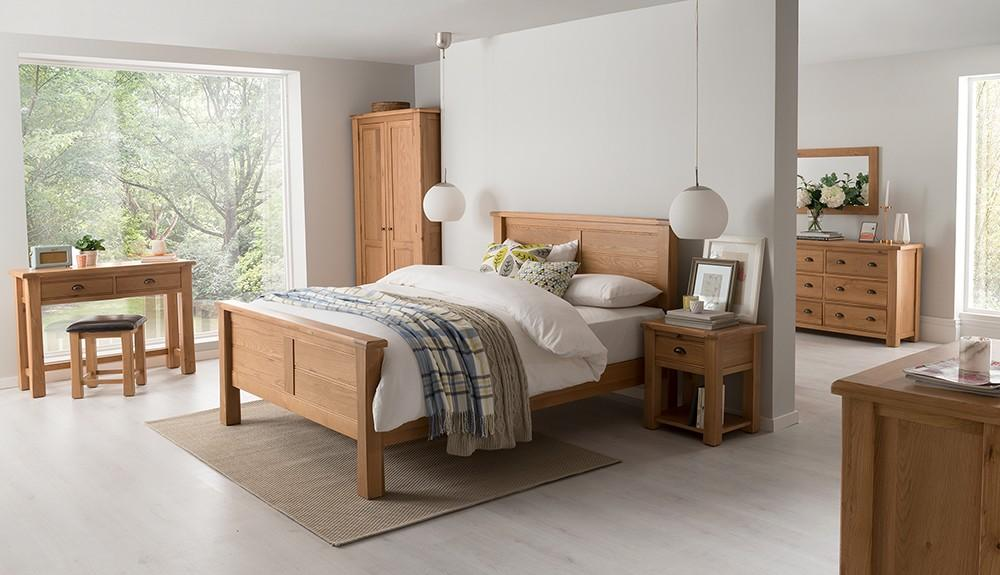 Kellys of Cornmarket Wexford Ireland Breeze Solid Oak Bedroom Range