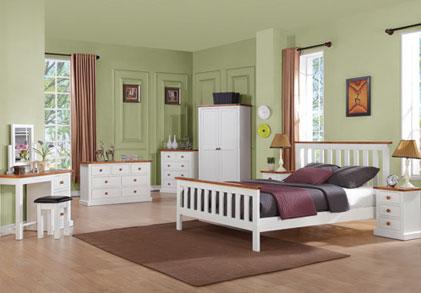 Kellys of Cornmarket Wexford Ireland Cherbourg Solid Pine Bedroom Range