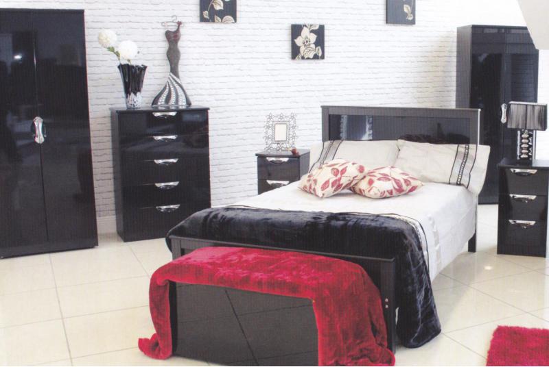 Kellys of Cornmarket Wexford Ireland Hi-Gloss Bedroom Range