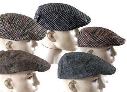 Kellys of Cornmarket Wexford Ireland Outdoor Wear Flat Caps